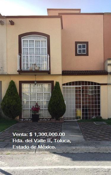 Foto Casa en condominio en Venta en  Toluca ,  Edo. de México  Casa en VENTA, Hacienda del Valle II, Toluca, Estado de México