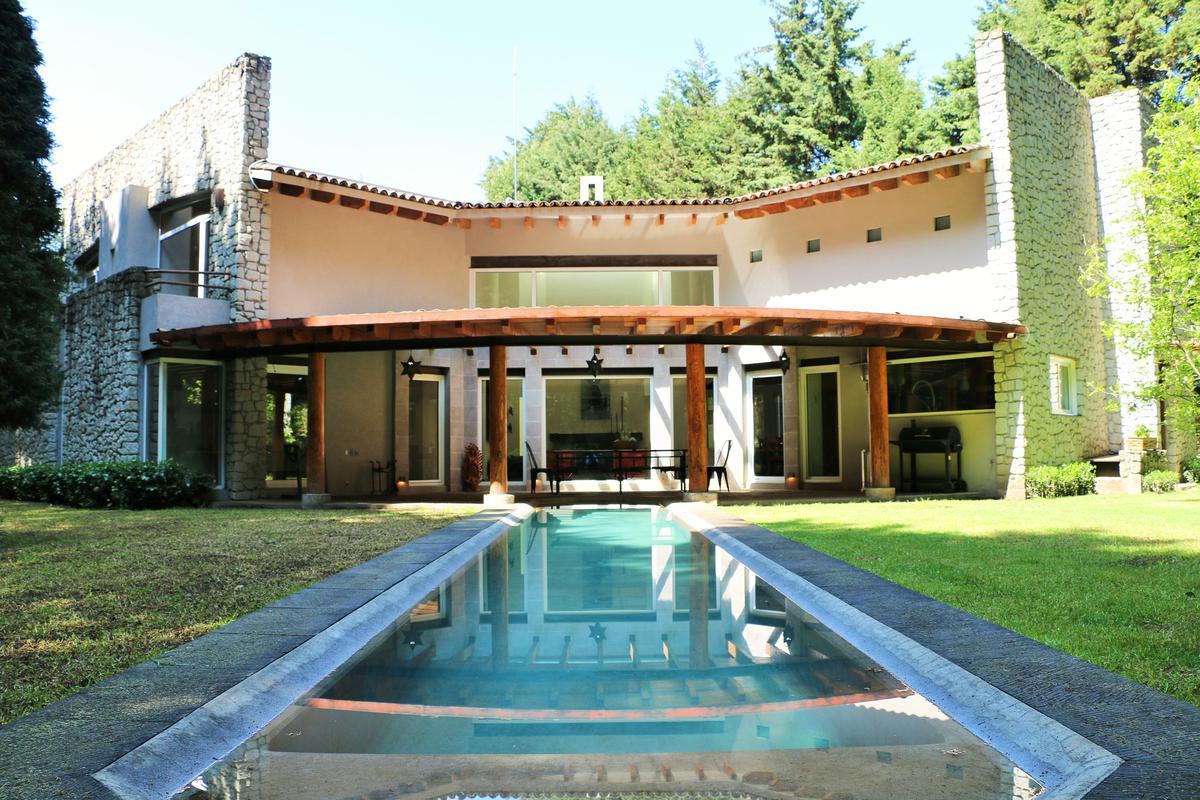 Foto Casa en Venta en  Ex-hacienda Jajalpa,  Ocoyoacac  Ex-hacienda Jajalpa