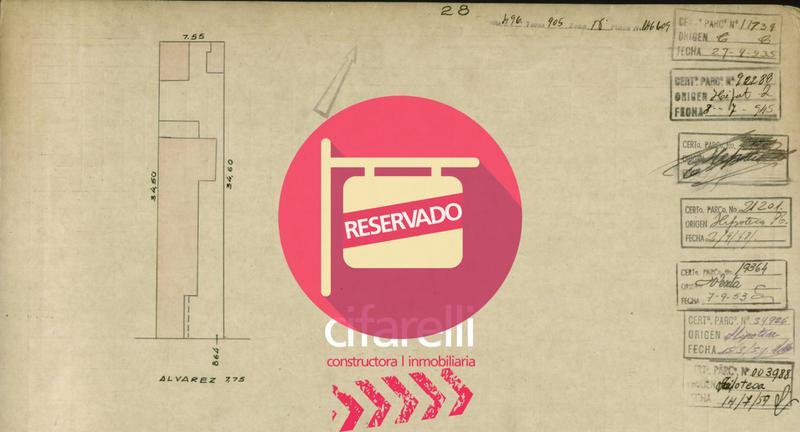 Foto Terreno en Venta en  Villa Crespo ,  Capital Federal  Julian Alvarez al 800