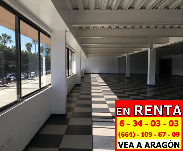 Foto Oficina en Renta en  Tijuana,  Tijuana  RENTAMOS PRECIOSAS OFICINAS 404 MTS2 2DO PISO, A ORILLA DE BLVD