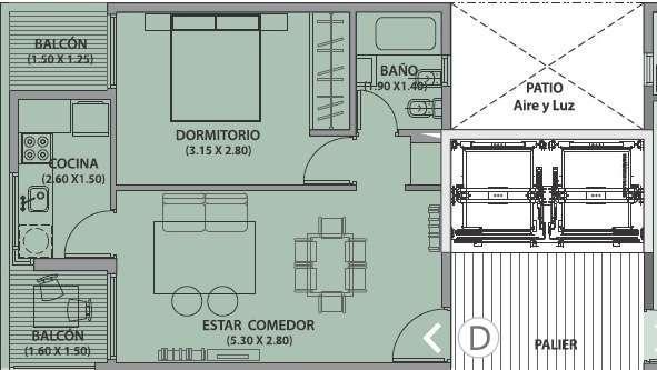 Foto Departamento en Venta en  Centro,  Cordoba  Ayacucho 54