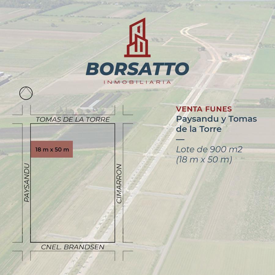 Foto Terreno en Venta en  Funes ,  Santa Fe  Paysandu al 1600