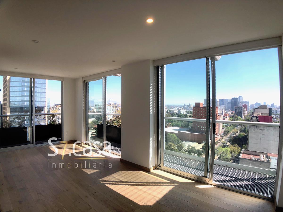 Foto Departamento en Renta en  Polanco,  Miguel Hidalgo  Departamento en Renta, Polanco, Con Doble balcon,  2 Recamaras, 2 baños, 1 L. Estac.  65 m2