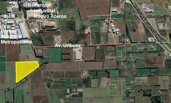 Foto Terreno en Venta en  Perez ,  Santa Fe  Zona Industrial Pérez