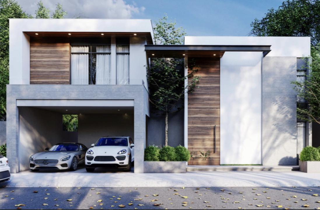 Foto Casa en Venta en  Monterrey ,  Nuevo León  Casa en Venta en Proyecto, en Carolco Residencial en Zona Carretera Nacional (LJGC)
