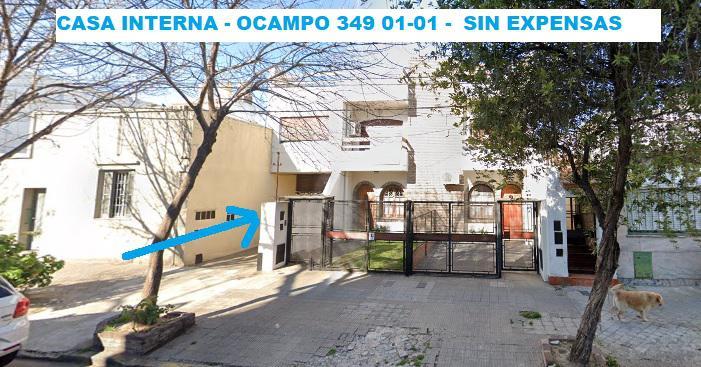 Foto Departamento en Alquiler |  en  Rep.De La Sexta,  Rosario  Departamento interna en PA - 2 dormitorios  - Ocampo 349 - Sin expensas