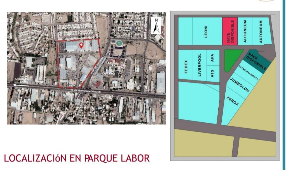 Foto Nave Industrial en Renta en  Parque industrial Parque Industrial La Labor,  Hermosillo  LABOR PARQUE INDUSTRIAL RENTA DE NAVE INDUSTRIAL