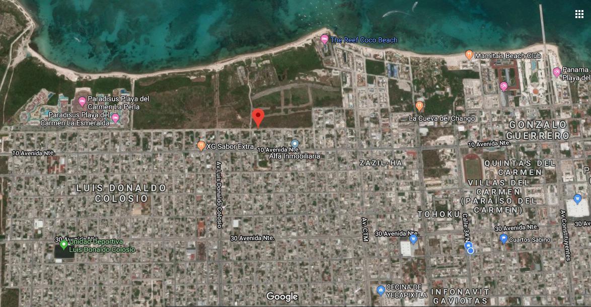 Foto Edificio Comercial en Venta en  Playa del Carmen,  Solidaridad  Edificio comercial de 880 m2