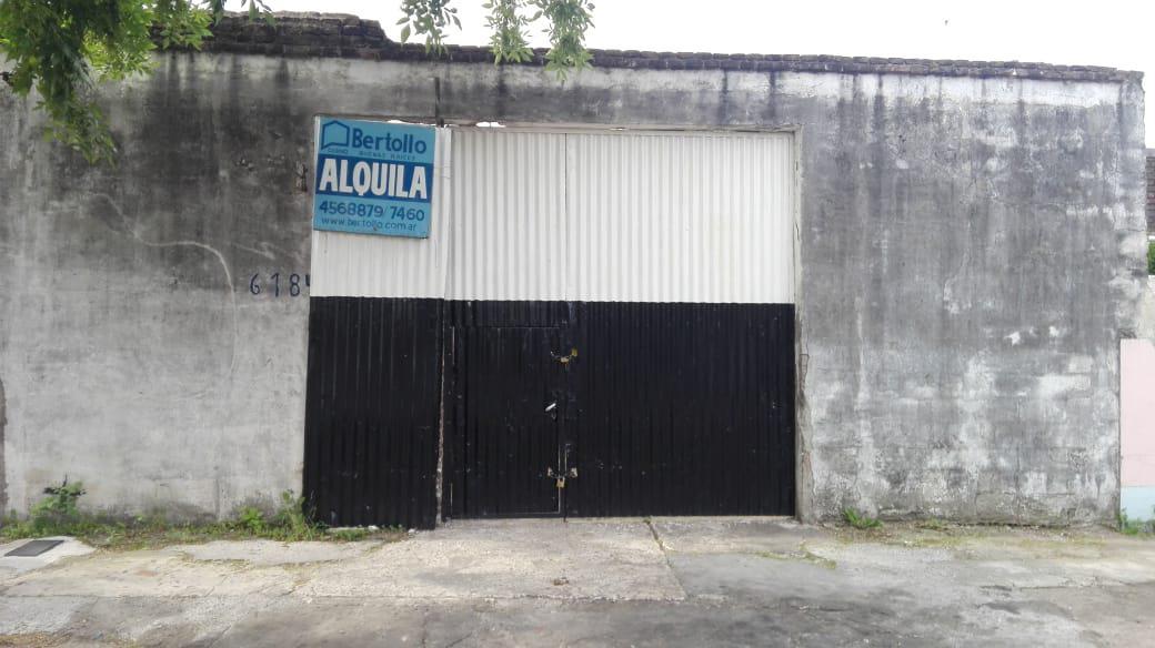 Foto Galpón en Alquiler en  Belgrano,  Rosario  CHUBUT al 6100
