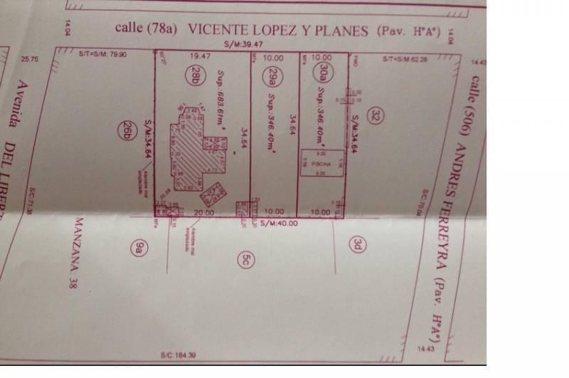 Foto Terreno en Venta en  La Lucila,  Vicente Lopez  Vicente Lopez y Planes al 200