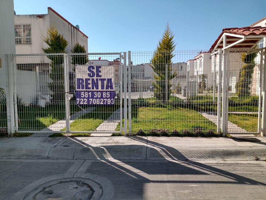 Foto Casa en condominio en Renta en  San Antonio la Isla ,  Edo. de México  Casa en RENTA, Villas Sauces Rio Bravo, San Antonio La Isla, Estado de México