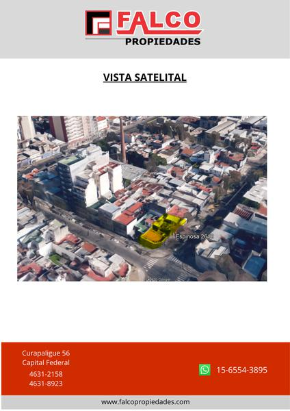 Foto Terreno en Venta en  Paternal ,  Capital Federal  Espinosa al 2600