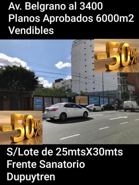 Foto Terreno en Venta en  Almagro ,  Capital Federal  Av. Belgrano al 3400