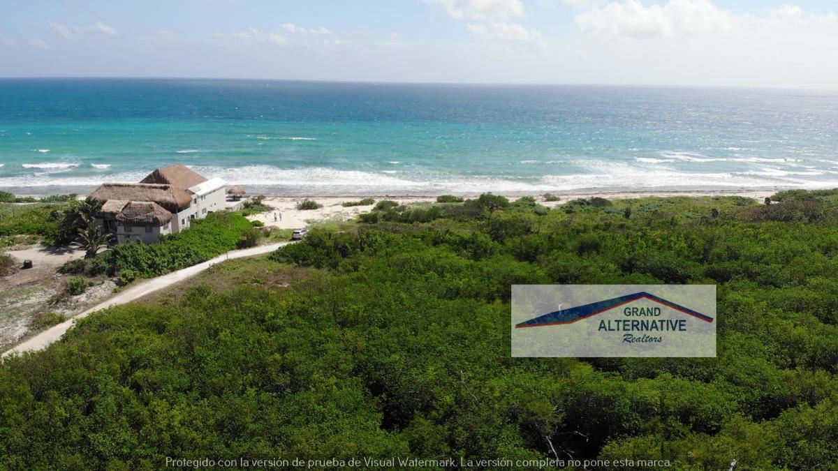 Foto Terreno en Venta en  Puerto Morelos,  Puerto Morelos  Terreno frente al mar en Venta Puerto Morelos, Cancún