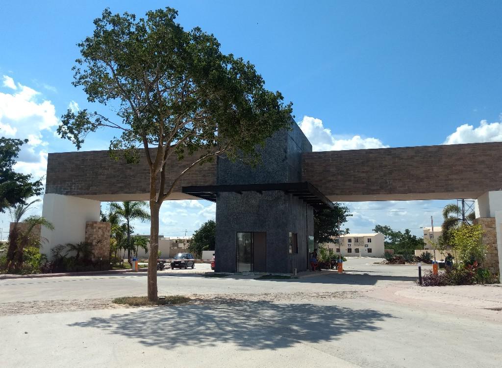 Foto Casa en Venta en  Pueblo Conkal,  Conkal  Casa en privada Botánico (Mod.179) Lote 210.