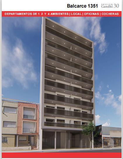 Foto Departamento en Venta en  Centro,  Rosario  BALCARCE 1351- 1 DORMITORIO-EN CONSTRUCCION