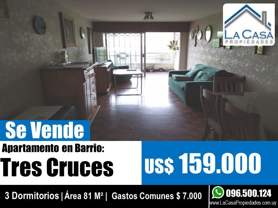 Foto Apartamento en Venta en  Tres Cruces ,  Montevideo  Pte Lorenzo Batlle  al 2400