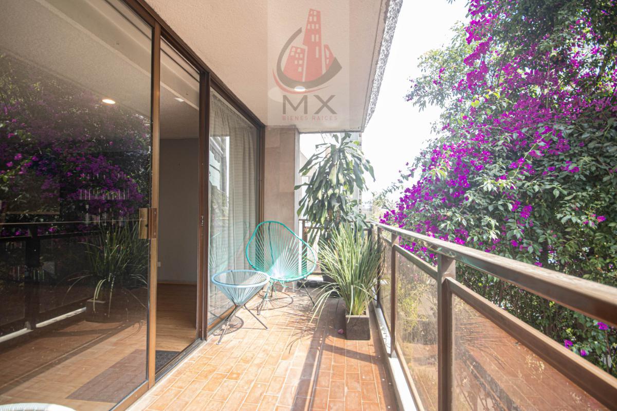 Foto Departamento en Renta en  Lomas de Chapultepec,  Miguel Hidalgo  Amplio departamento con balcón en Monte Elbruz