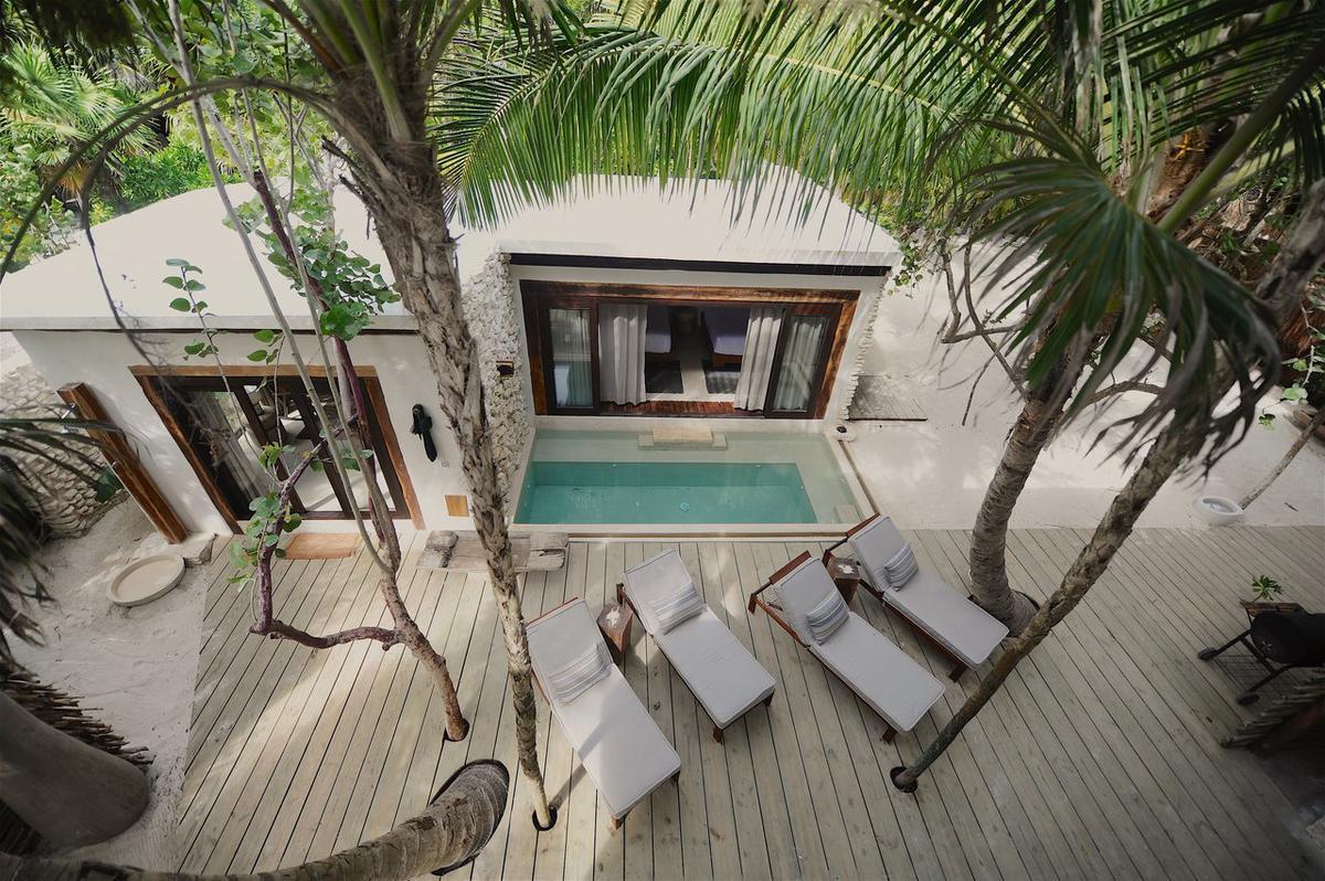 Foto Casa en Renta temporal en  Tulum,  Tulum          Casa en la Playa Tulum