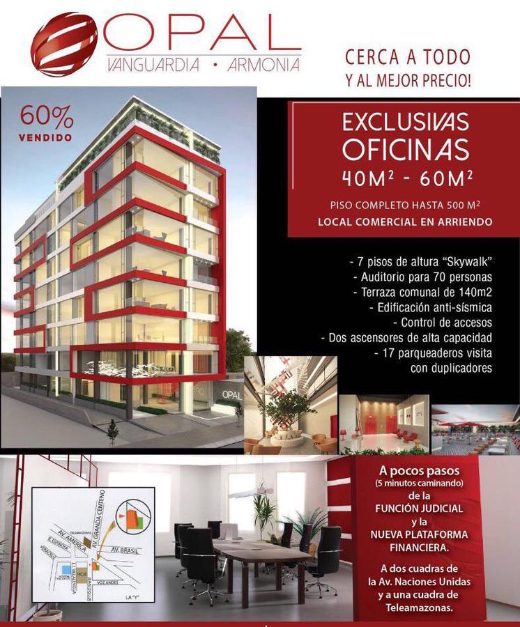 Foto Oficina en Venta en  Granda Centeno,  Quito  CANAL 4