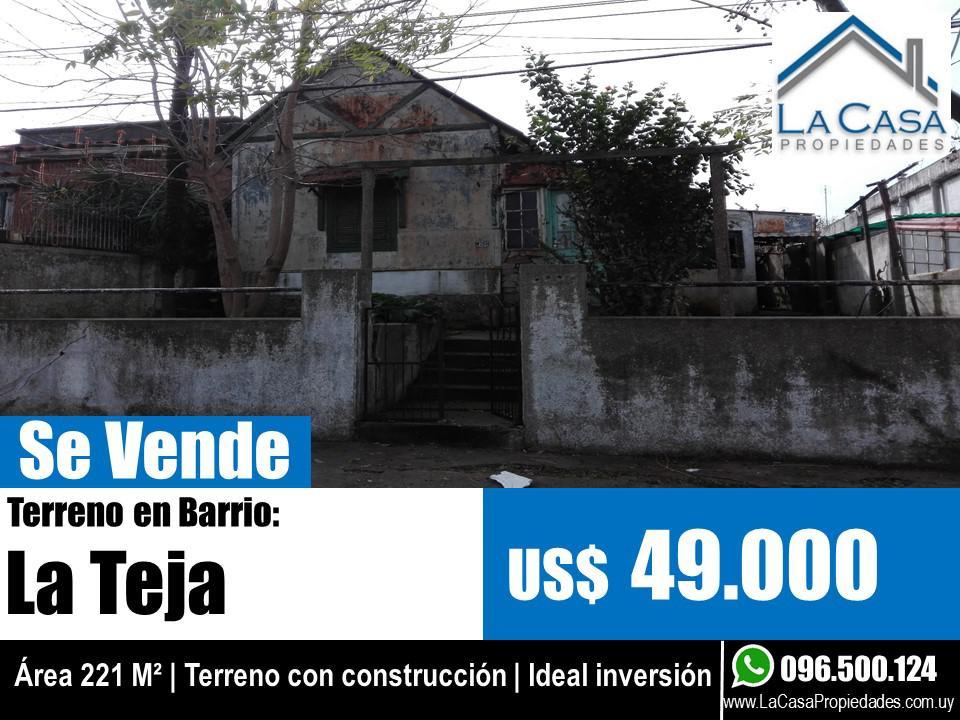 Foto Terreno en Venta en  La Teja ,  Montevideo  Concordia 4200