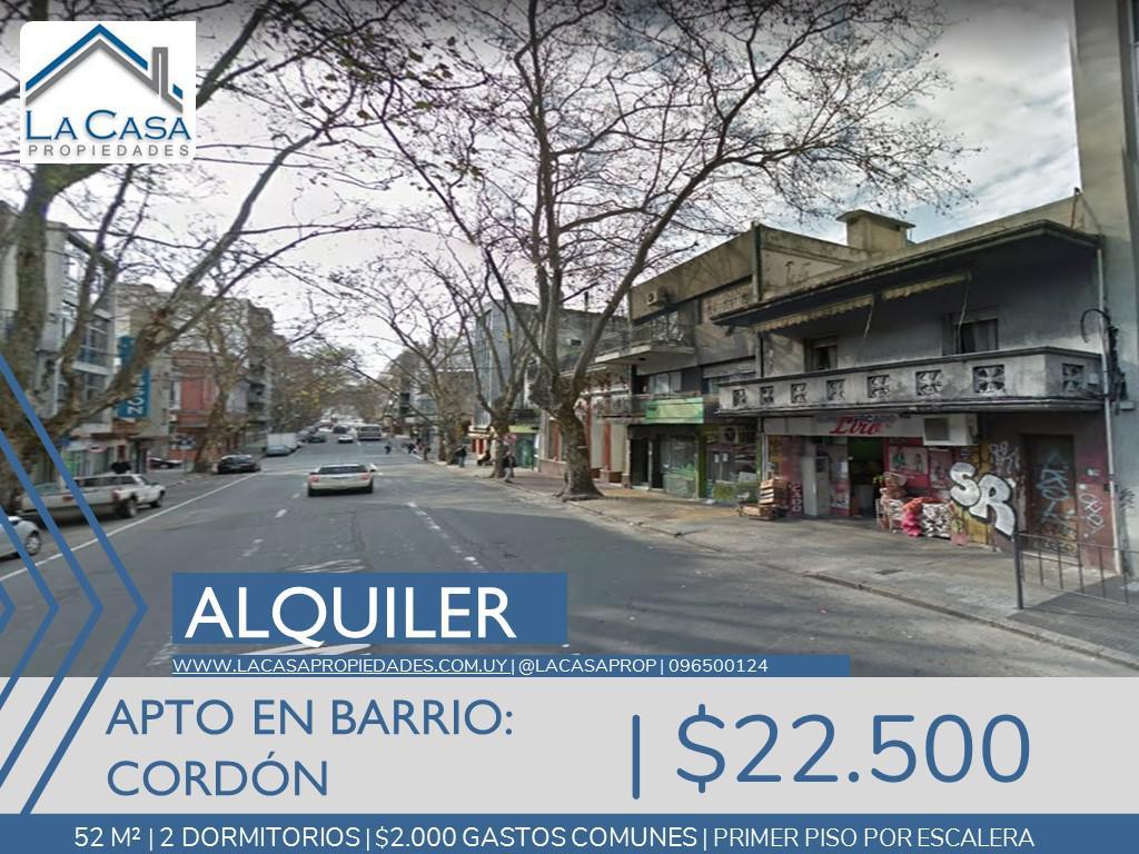 Foto Apartamento en Alquiler en  Cordón ,  Montevideo  Mercedes al 1700