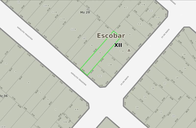 Foto Edificio Comercial en Venta en  Belen De Escobar,  Escobar  HIPOLITO YRIGOYEN 315