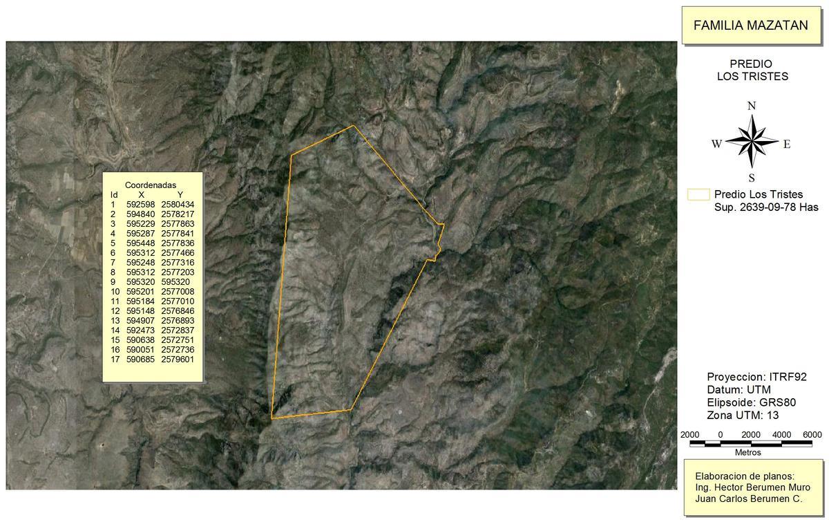 Foto Terreno en Venta en  Durango ,  Durango  Los tristes, Sierra Madre Occidental