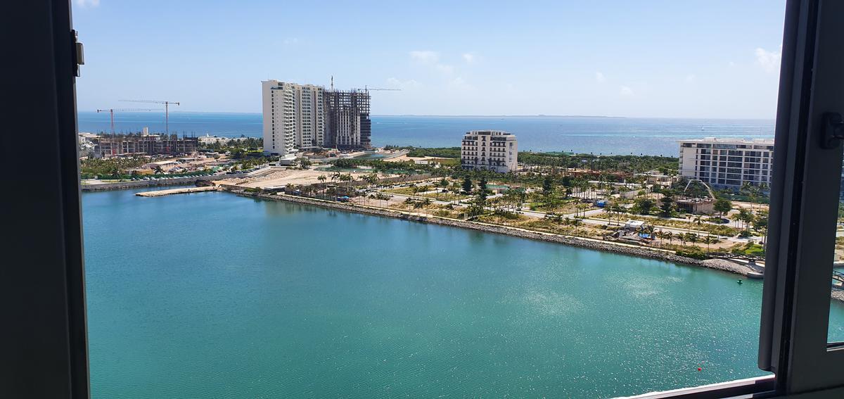 Foto Departamento en Renta | Venta en  Puerto Cancún,  Cancún  Puerto Cancún y Marina Condos. Departamento De Lujo en Renta y Venta Para Estrenar con Vista al Mar 2 Recámaras. Cancún Quintana Roo