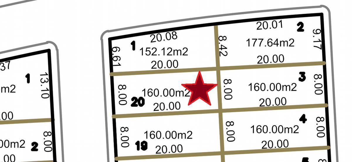 Foto Terreno en Venta en  Fraccionamiento Lomas de la Rioja,  Alvarado  LOMAS DE LA RIOJA, Terreno en VENTA de 160 m2 lado sombra, Circ. Pintores