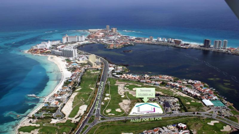 Foto Terreno en Venta en  Cancún Centro,  Cancún  Terreno en Venta de Zona Hotelera de Cancun