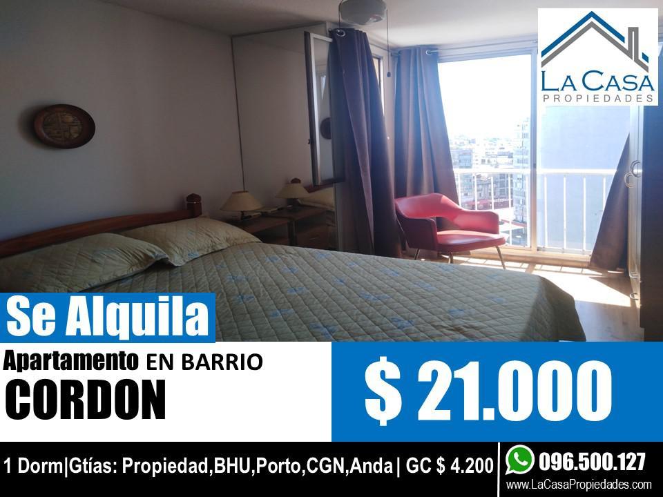 Foto Apartamento en Alquiler en  Cordón ,  Montevideo  Rivera 1900