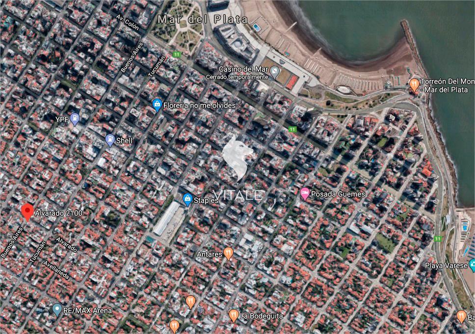 Foto Terreno en Venta en  Chauvin,  Mar Del Plata  Alvarado al 2100