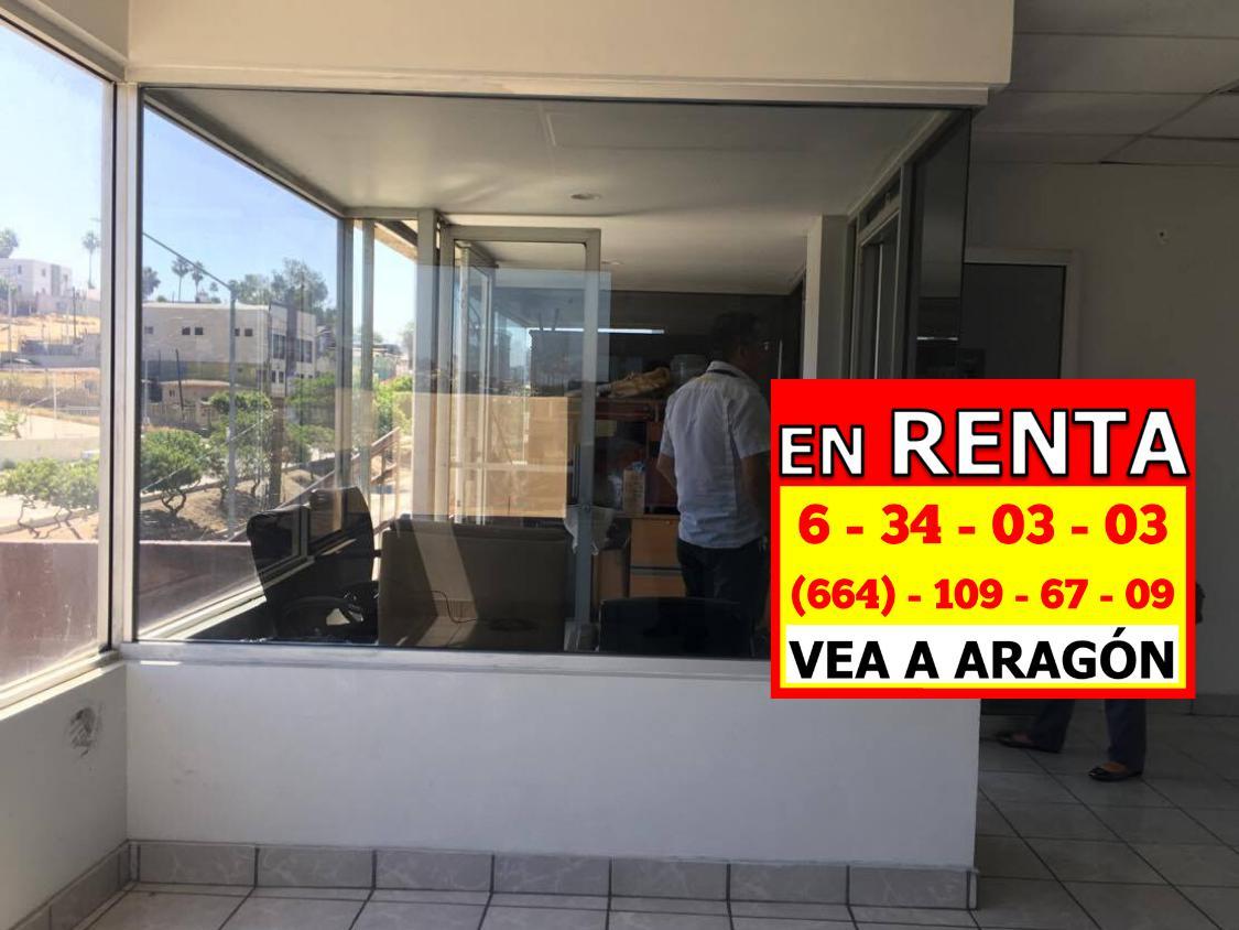 Foto Oficina en Renta en  Libertad,  Tijuana  RENTAMOS BONITA OFICINA 60 MTS 2, MUY BARATA EN ELEGANTE EDIFICIO, COL. LIBERTAD, CERCA DEL AEROPUERTO