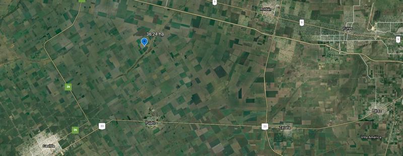 Foto Campo en Venta en  Pujato,  San Lorenzo  Zona Rural - 36,24 ha