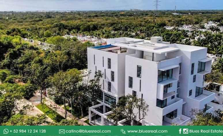 Picture Apartment in Sale in  Playa del Carmen,  Solidaridad  For sale new apartments in Onkoba - Code 520