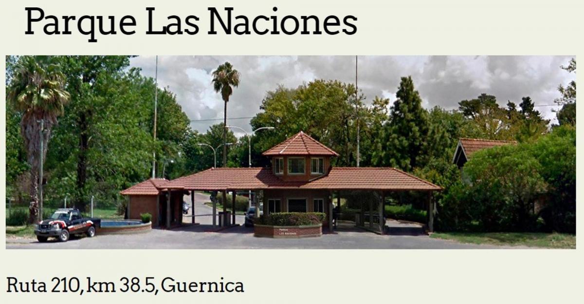 Foto Terreno en Venta en  Parque Las Naciones,  Guernica  Ruta al 210Km 38.5 Parque Naciones.