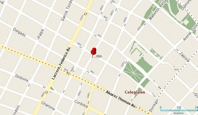 Foto Departamento en Alquiler temporario en  Colegiales ,  Capital Federal  MAURE entre MARTINEZ, ENRIQUE y DELGADO