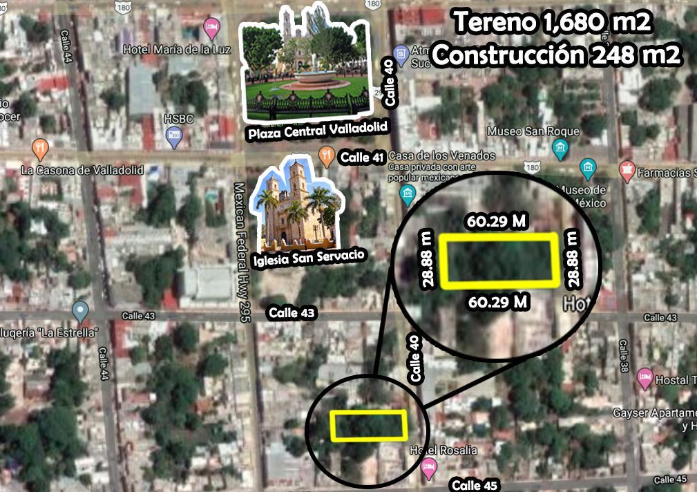Foto Casa en Renta en  Valladolid ,  Yucatán  Casona Con Amplio Terreno En El Centro De  Valladolid