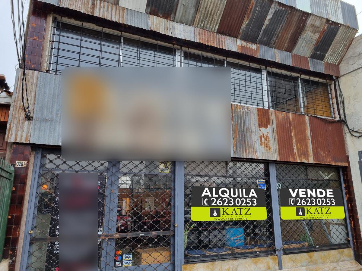Foto Local en Venta en  La Blanqueada ,  Montevideo  Monte Caseros y Larrañaga, 371 m2  , frente 8,5 mts !!