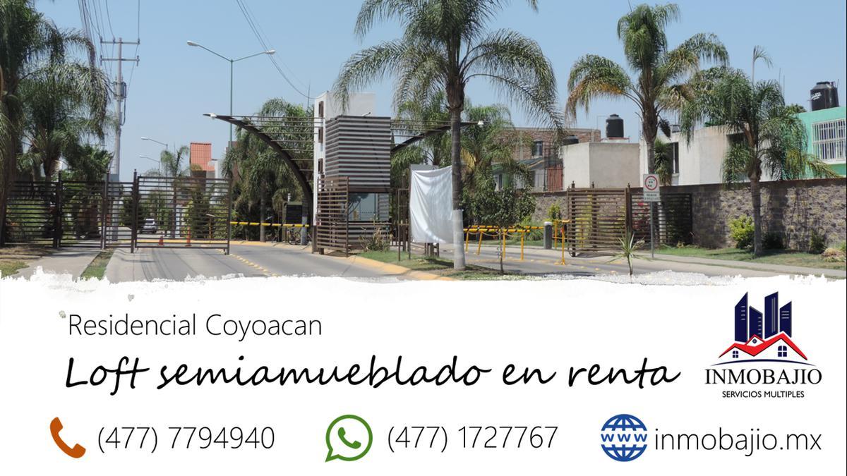 Foto Departamento en Renta en  Residencial Platino,  León  Loft nuevo semiamueblado en Residencial Coyoacan