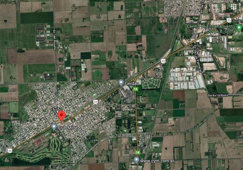 Foto Terreno en Alquiler en  Perez ,  Santa Fe  Perez - Barrio Tempesti - Lote de 3.1 hectáreas