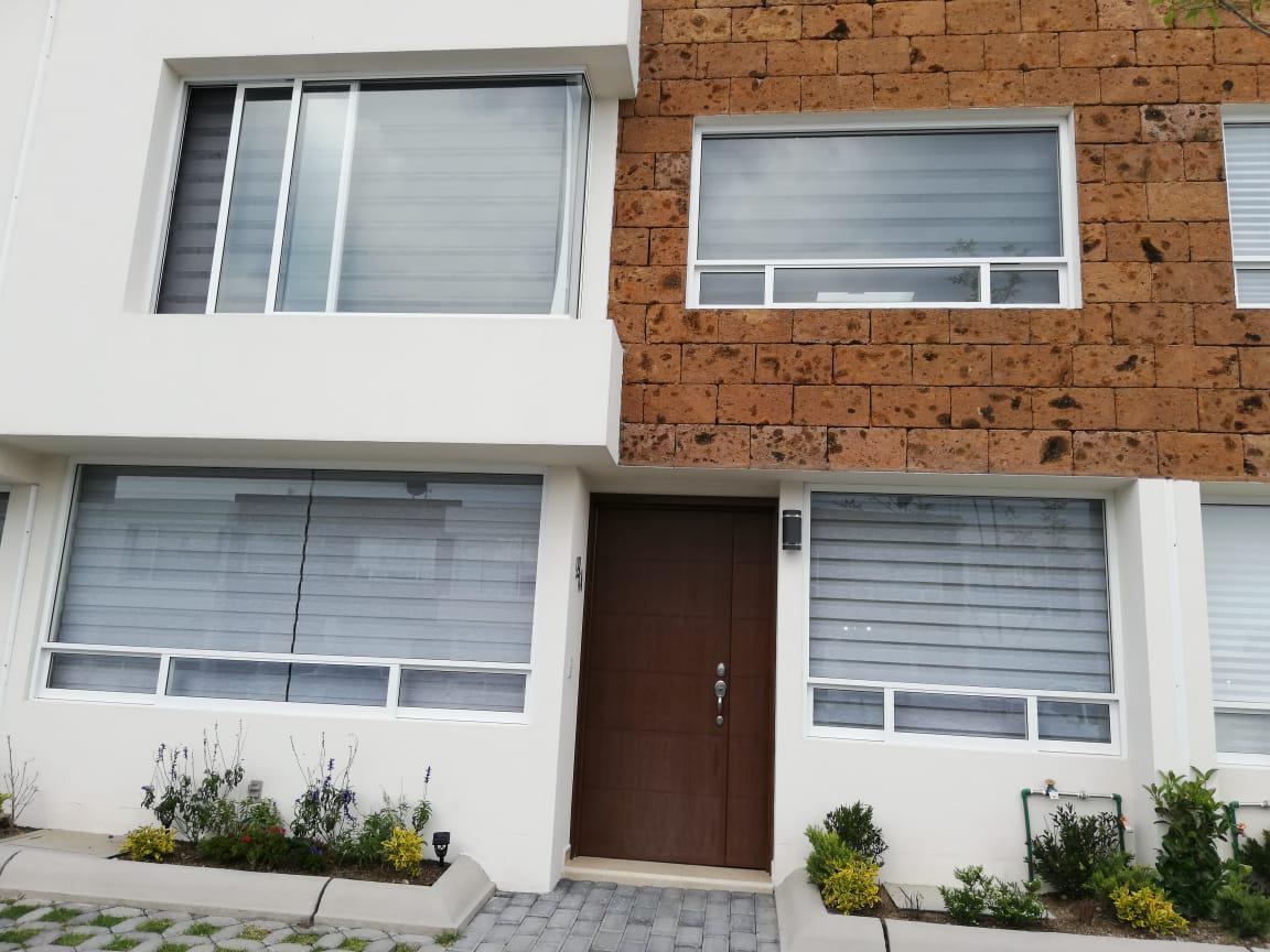 Foto Casa en condominio en Venta en  San Andrés Ocotlán,  Calimaya  Casaen venta, 3 recamaras, Bosque de las Fuentes