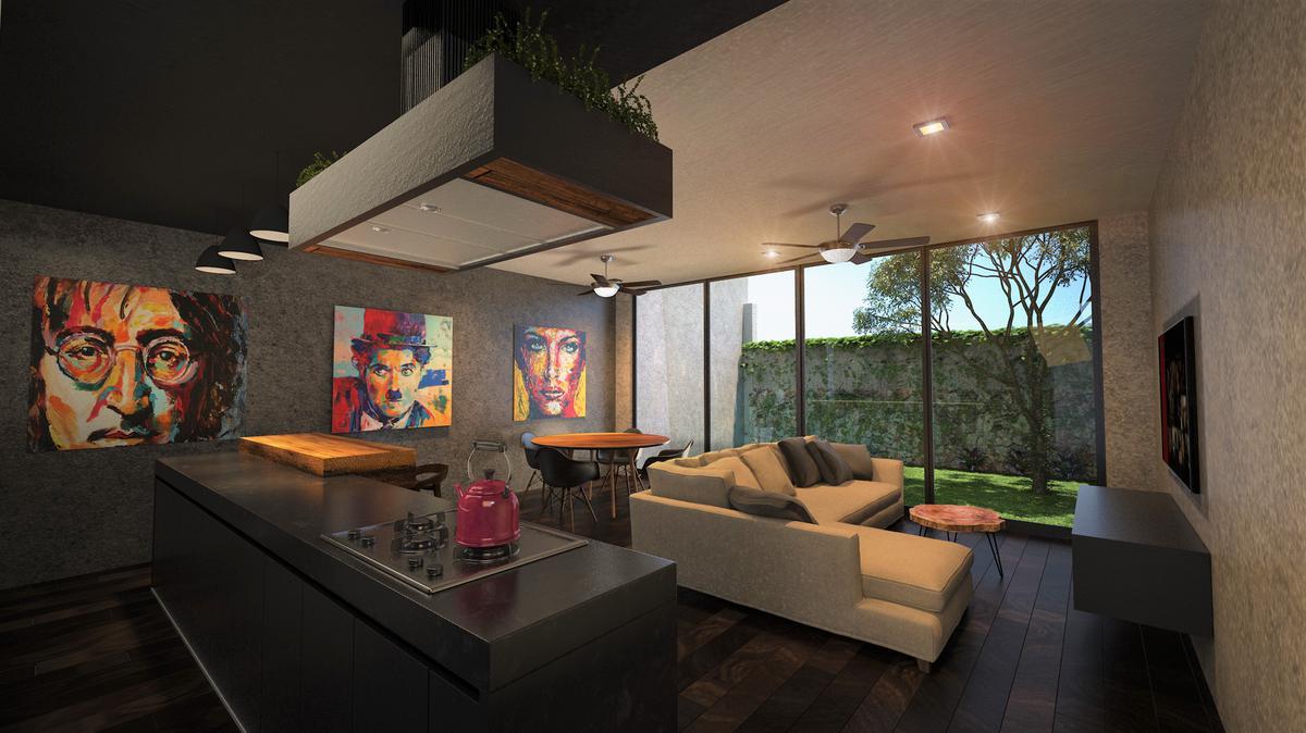 Foto Casa en Venta en  Temozon Norte,  Mérida  TownHouse  en venta en Temozón Norte,  Merida_En privada con amenidades