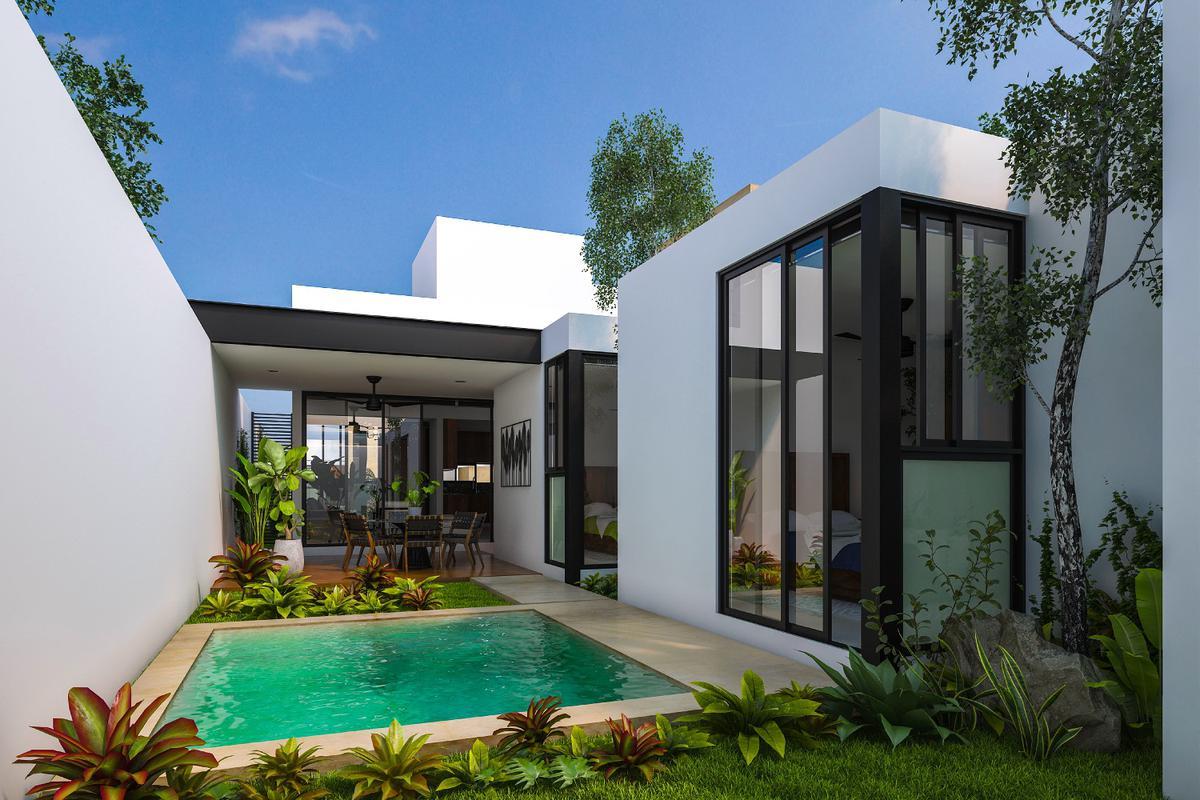 Foto Casa en Venta en  Pueblo Cholul,  Mérida  Casa de 1 Planta en Venta, Privada a min de plaza Altabrisa,Cholul,Mérida,Yucatán