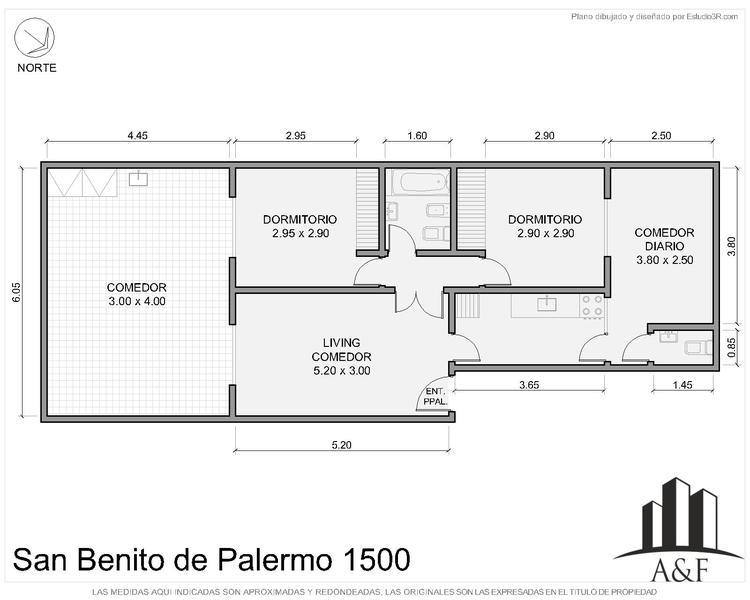 Foto Departamento en Venta en  Las Cañitas,  Palermo  San Benito de Palermo al 1500