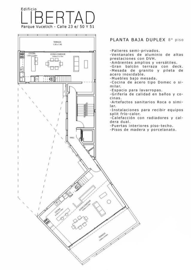 Foto Departamento en Venta en  La Plata,  La Plata  23 E/ 51 y 53, 1° A