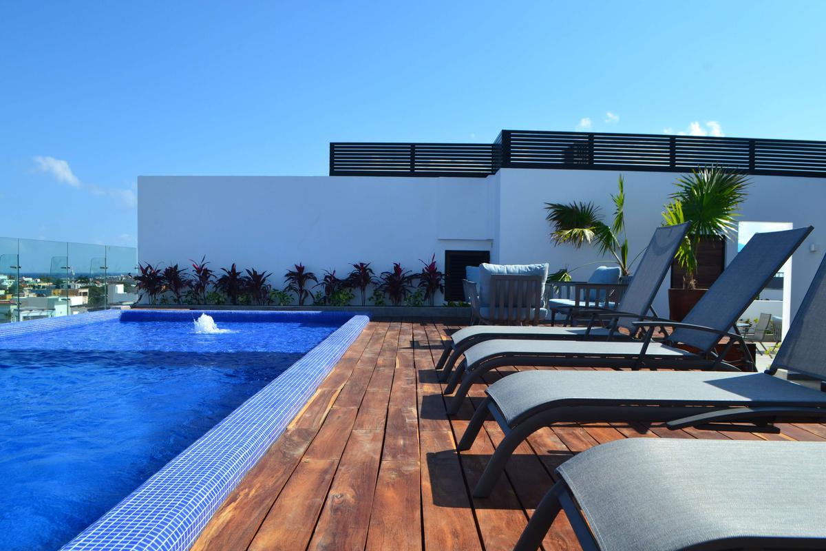 Foto Departamento en Renta en  Playa del Carmen Centro,  Solidaridad  Departamento en renta Playa del Carmen por año!