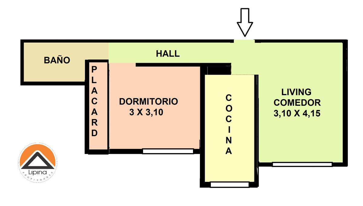 Foto Departamento en Alquiler temporario en  Botanico,  Palermo  Araoz al 2700