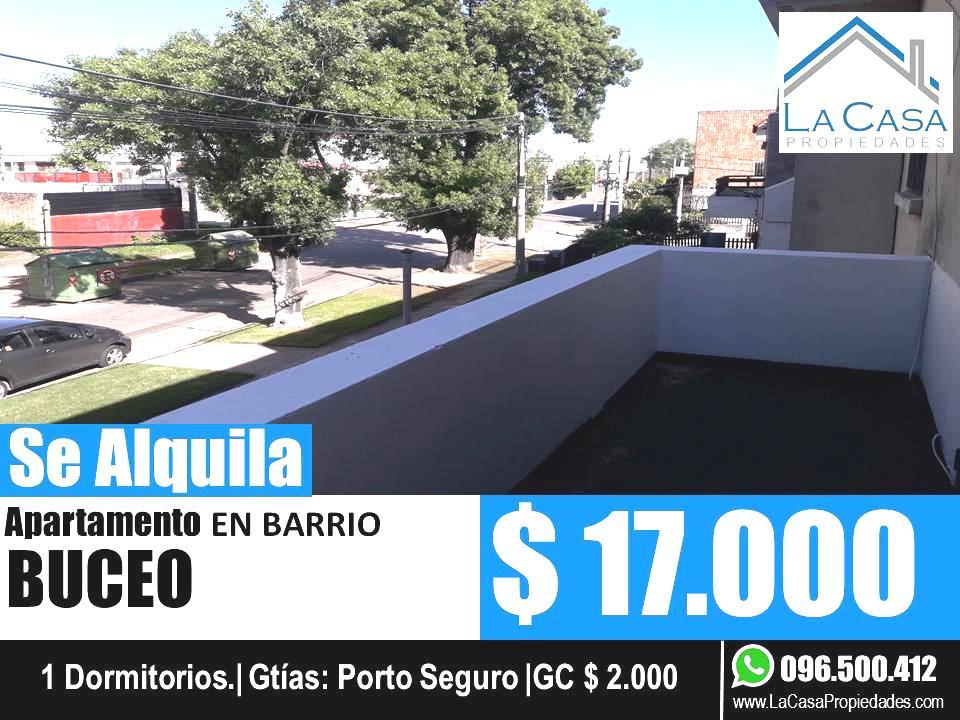 Foto Apartamento en Alquiler en  Buceo ,  Montevideo  Resistencia al 1600